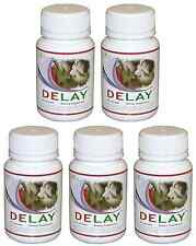 DELAY 5 Bottles Increase Men Male Stamina Prolong Intimacy Endurance Performance