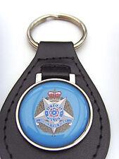 Victoria Police Leather Keyfob Key Fob Keyring Gift