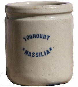 Pot De Yoghurt Yogurt IN Sandstone Massilia Bridge Of Nail & Foot File 1930