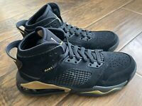 New Nike Air Jordan Mars 270 GS Youth Sz 5.5Y Black Metallic Gold BQ6508-007