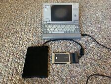 Vintage Toshiba Libretto 50CT Palm PC W/Power Supply & External Drive - READ
