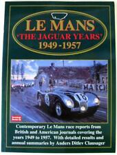 LE MANS 'THE JAGUAR YEARS' 1949-1957 R.M. Clarke (compiler) ISBN:185520357x Book