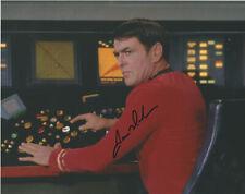 JAMES DOOHAN SIGNED 10X8 COLOR PHOTO STAR TREK ORIGINAL SERIES SCOTTY AUTOGRAPH