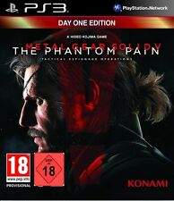 Ps3 gioco Metal Gear Solid V 5-The Phantom Pain-Day One Edition NUOVO