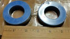 (Qty of 2) 315-0046 ONAN 66mm x 15mm x15mm TRANSFORMER Ferrite RING Loop NOS