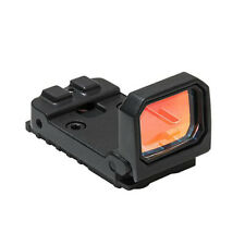 1x Red Dot Holographic Sight Reflex Sight Flip Scope Rail Mount Rifle&Pistol