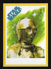 2017 Topps Star Wars 1978 Sugar Free Wrappers C-3PO Gold #4/25
