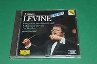 """CD """"JAMES LEVINE DIRIGE"""" MOZART DUKAS SMETANA SCHUBERT / D. GRAMMOPHON, TB ETAT"""