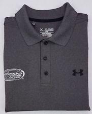 Under Armour 2XL Polo Shirt Gray Mens New Nwt Size Sz Richmond International XXL