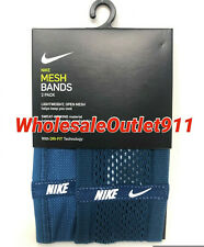 30 New Nike 2 Pack Mesh Bands Wrist Sports Workout Exercise Wholesale Bult Lot