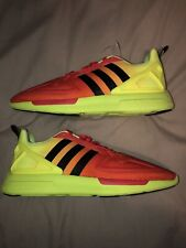 Adidas Zx Flux 2k Brand New No Tags Or Box Size 9 Uk Red /yellow
