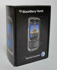 BlackBerry Torch 9800 - 4GB - Black (AT&T) Unlocked Slider Cell QWERTY keyboard