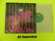 "April Wine live - LP Record Vinyl Album 12"""