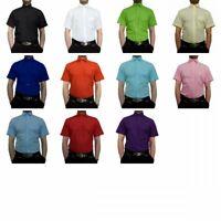 Designer Herren Hemd Kurzarm Kurz Arm gerader Schnitt Herrenhemd K11