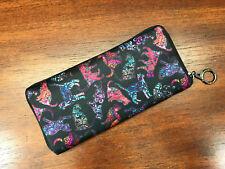 Bohemian Colorful CATS Ladies Wallet by Dan Morris, gift for her, ©Dan Morris