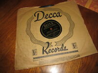 BING CROSBY And The ANDREW SISTERS 78 RPM DON'T FENCE ME IN 1944 Decca