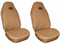 Front Seat Covers BEIGE for Land Rover Freelander Discovery Defender