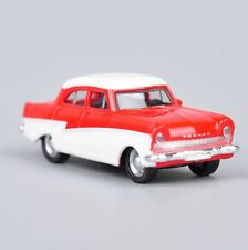 1/87 Scale Miniature Classic Red Top White Diecast Vehicles Car Model Kids Gift