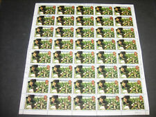 Nicaragua 1980 Revolution anniversary 1cor25 Used Full Complete Sheet #S372