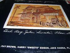 HERB ELLIS RAY BROWN GEORGE DUKE After You've Gone 1975 CONCORD LP vinyl n/mint