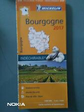 CARTE MICHELIN N°519 REGION BOURGOGNE - INDECHIRABLE - Ed.2017 - NEUVE