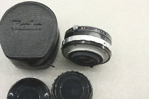 Kenko NT Auto Teleplus 2X Lens W/Case - USED D49