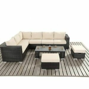 Rattan Coffee Table In Garden Patio Furniture Sets For Sale Ebay