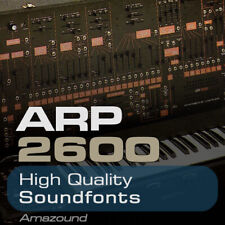 ARP 2600 SOUNDFONT COLLECTION 412 SF2 FILES 3000+ SAMPLES 1.4GB HIGH QUALITY