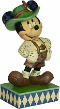 Jim Shore Mickey Mouse Around the World Greetings From Germany 4043633 Nrfb Rare