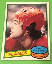 1980-81 O-Pee-Chee Kent Nilsson Rookie Card  #197 Calgary Flames MK