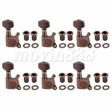6x Right Electric Guitar Closed Tuning Pegs Tuners Machine Heads Bronze