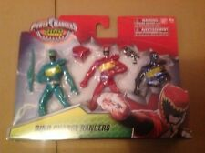 Power Rangers Dino Charge 10cm Action Figures 3 Pack - Red Green & Black