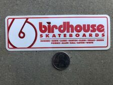NEW VINTAGE RARE BIRHOUSE SKATEBOARD SKATE DECAL STICKER COLLECTOR'S EDITION
