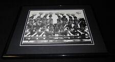 1980 Miami Dolphins Star Brites Cheerleaders Framed 11x14 Photo Display
