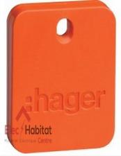 Lot de 5 badges électronique Hager RLF101X (ex TAGIL)