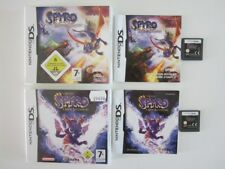 LOT 2 jeux SPYRO A NEW BEGINNING + DAWN OF THE DRAGON pour DS 2DS 3DS PAL FR VF