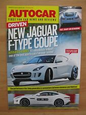 """New Jaguar F-Type R Coupe - Driven"" AutoCar Magazine Reprint Brochure. (2014)"