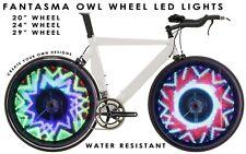 Fantasma OWL Spoke Wheel LED Light, Programmable, 700C, One Wheel (BK-7082)
