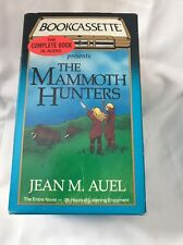 The Mammoth Hunters by Jean M. Auel (1998, Cassette, Unabridged)