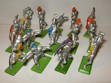 LOT de 14 DEETAIL BRITAINS ENGLAND 1971 GUERRIERS ARMURES