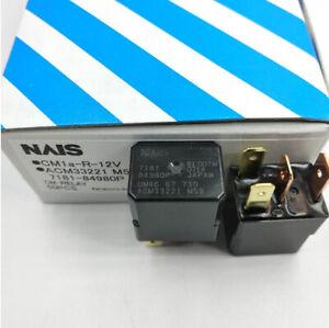 1Pc NAIS CM1A-R-12V ACM33221 M59 Automotive Relay 4 Pins DC12V New