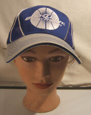 Bud Light Only in March Madness Baseball Trucker Snapback Hat Blue & Silver
