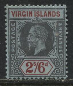 Virgin Islands KGV 1913 2/6d mint o.g.