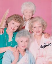 Betty White Hand Signed 8x10 Photo, Autograph, The Golden Girls Hit In Cleveland