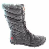 NIB WOMEN'S COLUMBIA INSULATED POWDER SUMMIT 200 GRAMS INSULATED BOOTS SIZE 8