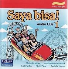 Saya Bisa! 1: Audio CDs by Michelle Miller Indonesian Language Teacher Resource