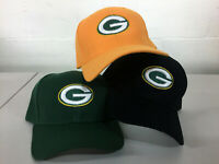Green Bay Packers Cap GB Hat Embroidered Game Men Home Adjustable Curved
