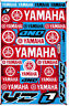 YAMAHA Stickers Vinyl Decals Red Blue Motorcycle Racing Bike New Free Shipping