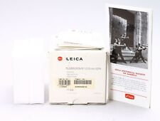 LEICA LEITZ 35MM F/2 SUMMICRON-M ASPH TITANIUM FINISH LENS -- BOX ONLY