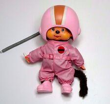 Monchhichi Sekiguchi Astronautin Raumfahrer ca. 20 cm Monchichi Pink Space Girl